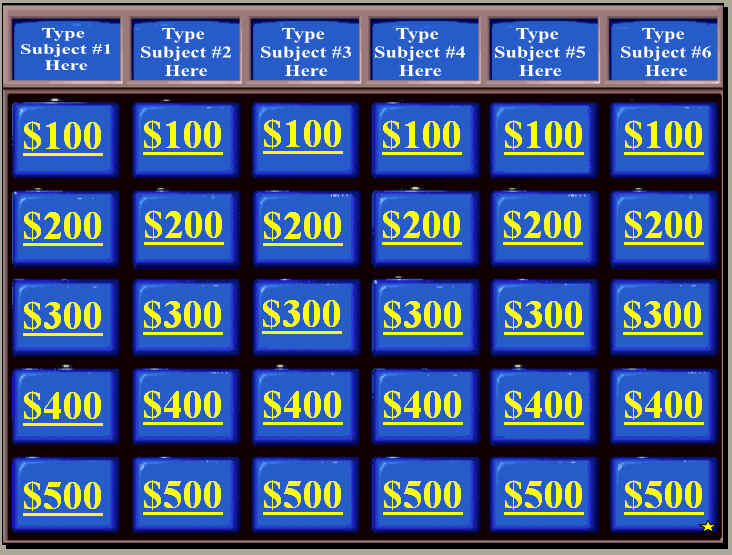 Math Jeopardy Questions