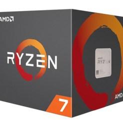 CPU AMD Ryzen 7 1700 3.0 GHz (3.7 GHz with boost) / 20MB / 8 cores 16 threads / socket AM4