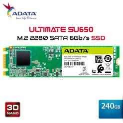 Ổ cứng SSD Adata 240GB M.2 2280 SATA- (SU650NS38-240GT-C)