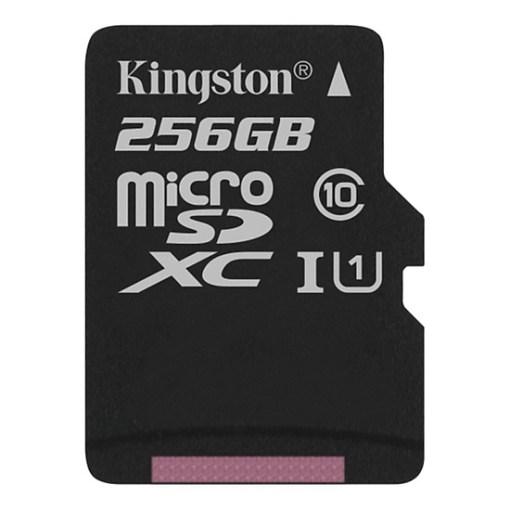 Thẻ Nhớ Kingston 256GB microSDHC Canvas - SDCS/256GB