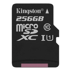 Thẻ Nhớ Kingston 256GB microSDHC Canvas - SDCS/256GB