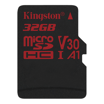 Thẻ Nhớ Kingston 32GB  microSDHC Canvas React - SDCR/32GB