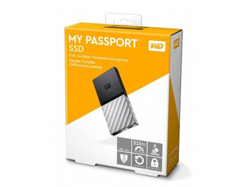 Ổ Cứng Di Động WD My PassPort SSD 512GB USB3.1 WDBKVX5120PSL-WESN