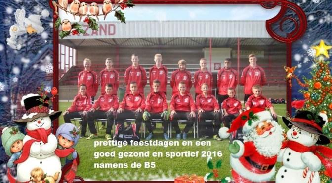 Kerstgroet B5