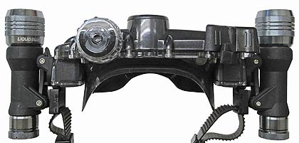 Scuba Diver Info - Liquid Image VideoMaskHD322 Camera Mask