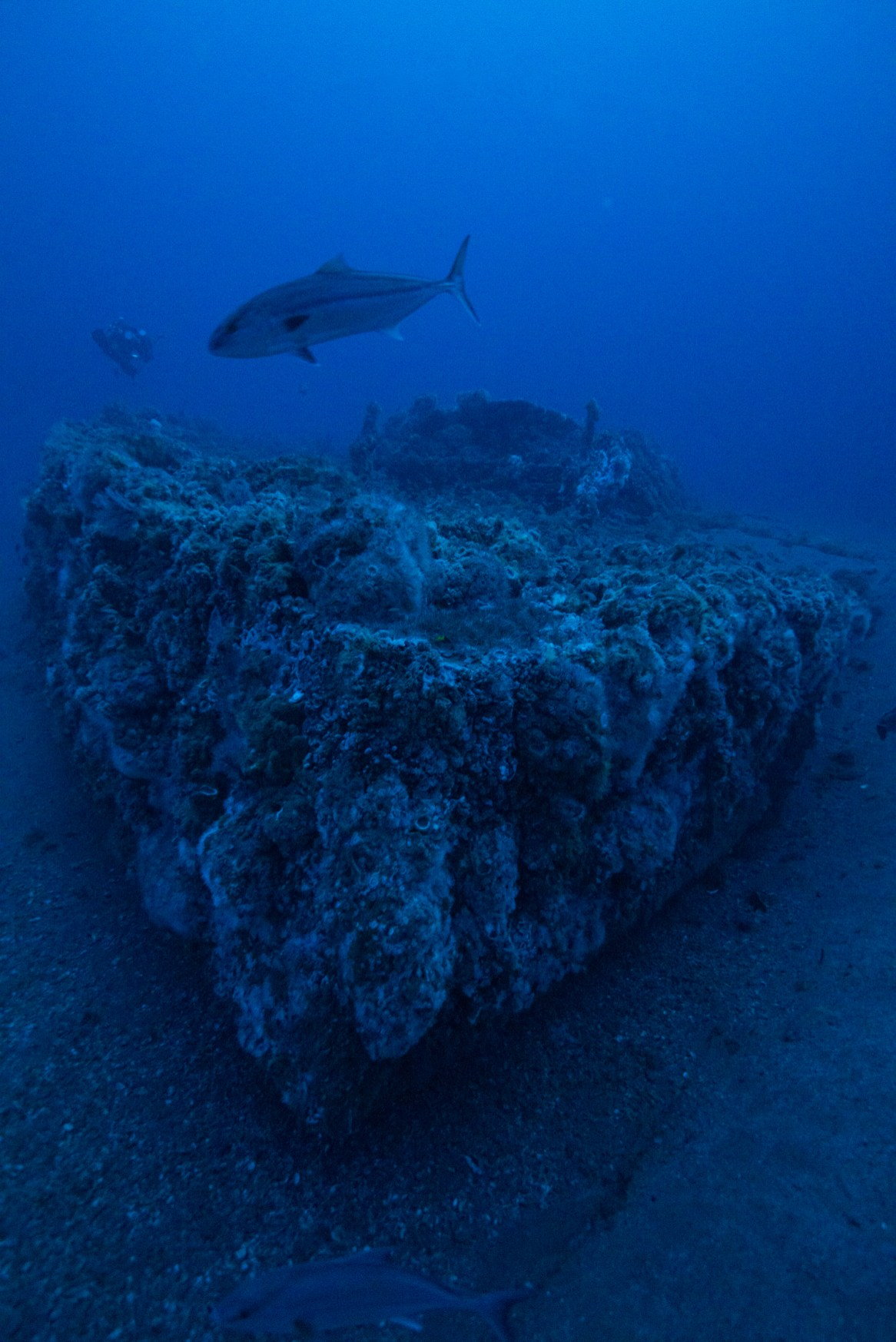 USS Monitor as photographed in 2015. (Photo credit: NOAA)