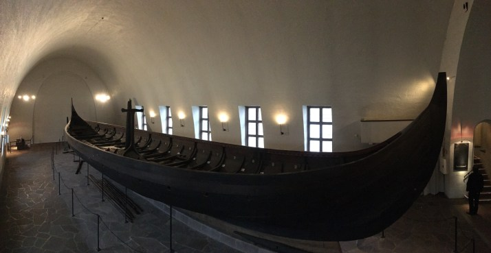 The Viking Ship Museum is a must-visit on an Oslo layover, offering reconstructions of a few Viking ships as well as numerous artifacts. (Photo by Rebecca Strauss)