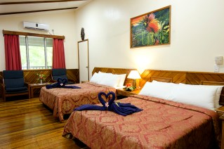 Bungalows are cozy and comfortable. (Photo courtesy of Tawali Resort).