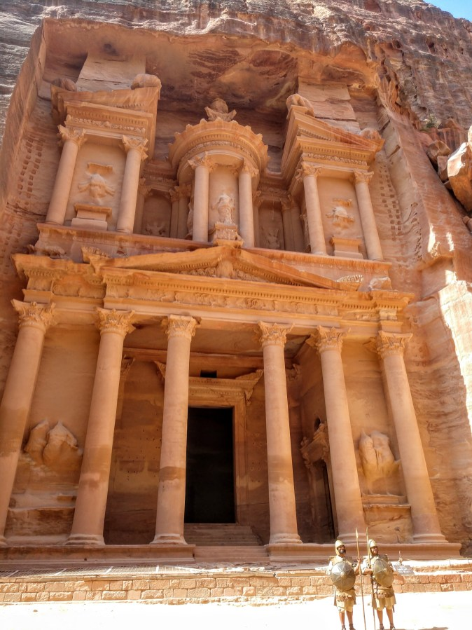 Petra is an iconic UNESCO World Heritage site for obvious reasons (credit: Shelley Collett)