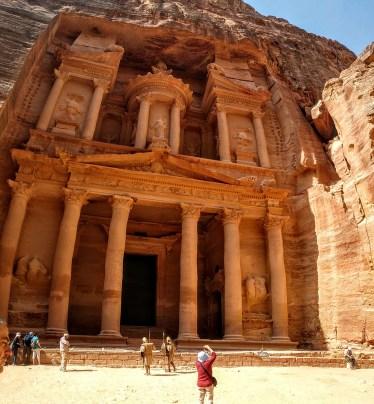 Exploring Petra (credit: Shelley Collett)
