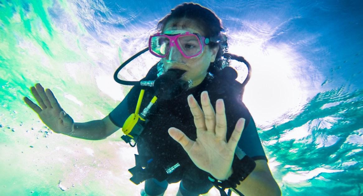 scuba-related panic