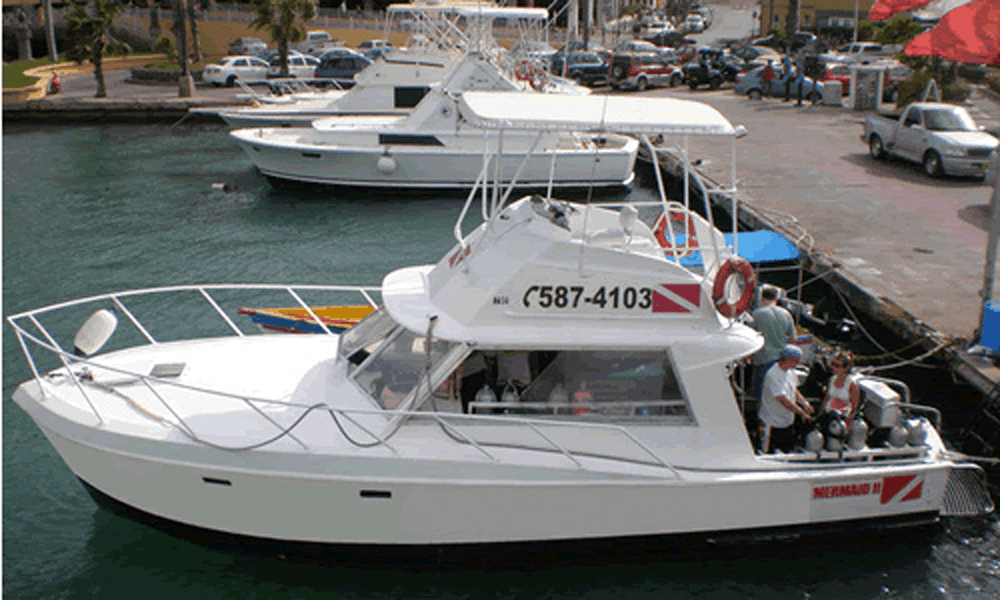 Mermaid II Dive Boat, Seaport Marina, Oranjestad, Aruba