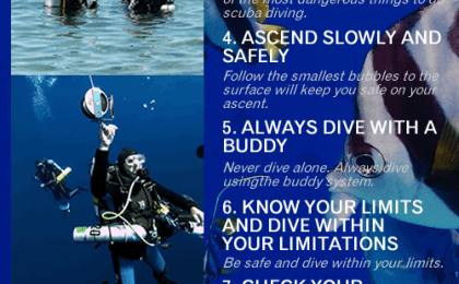 10 top safety tips for scuba diving