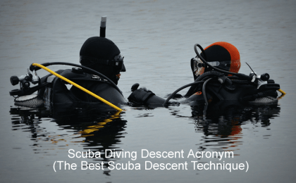 Scuba Diving Descent Acronym - The Best Scuba Descent Technique