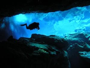 corvatia cave diving