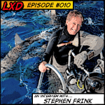 LXD 010 : Stephen Frink – Legendary Underwater Photographer, Publisher