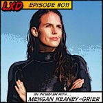 LXD 011 : Mehgan Heaney-Grier – Record Freediver, Actress, Conservationist
