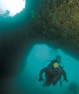 A Freak of Nature: Anacapa Island's Underwater Arch