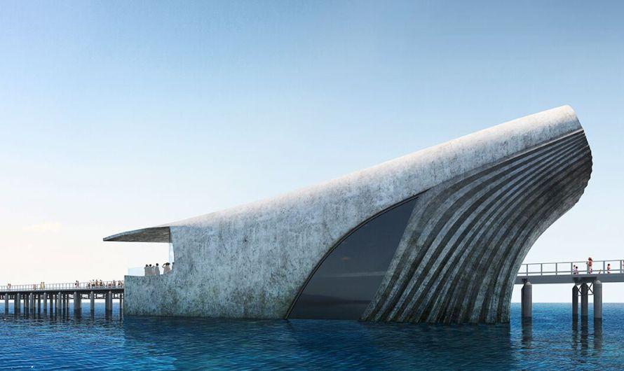 New Australian Marine Center Will Be Shaped Like Breaching Whale