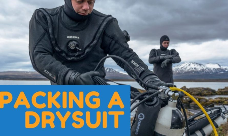 How to pack your drysuit