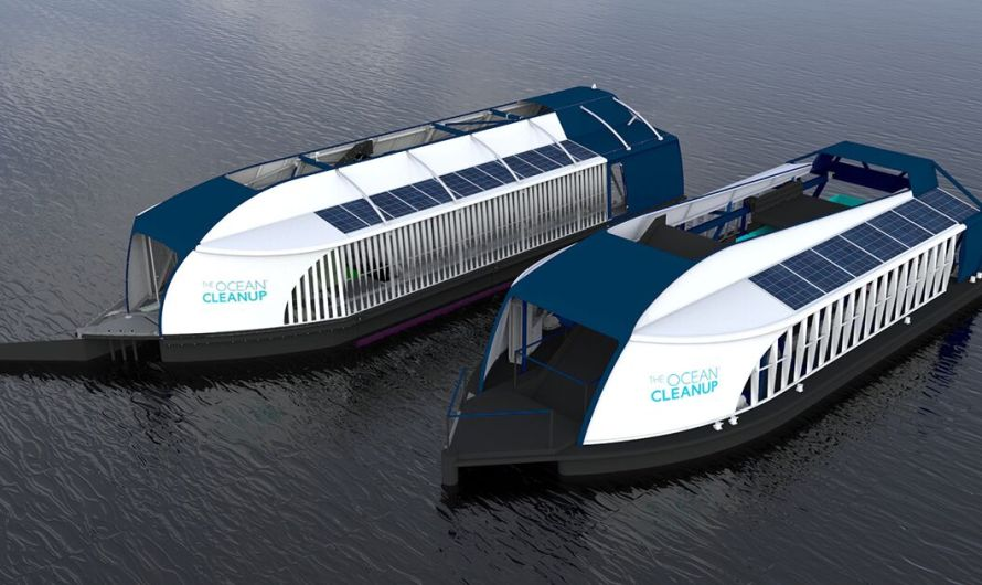 The Ocean Cleanup Unveils Updated River Debris Extractor