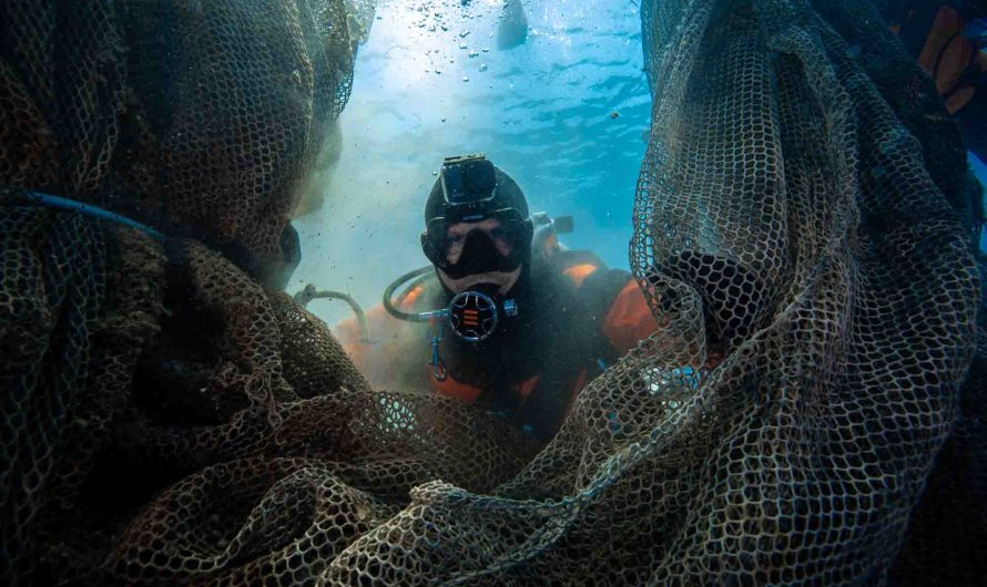 Divers answer epic clean-up call