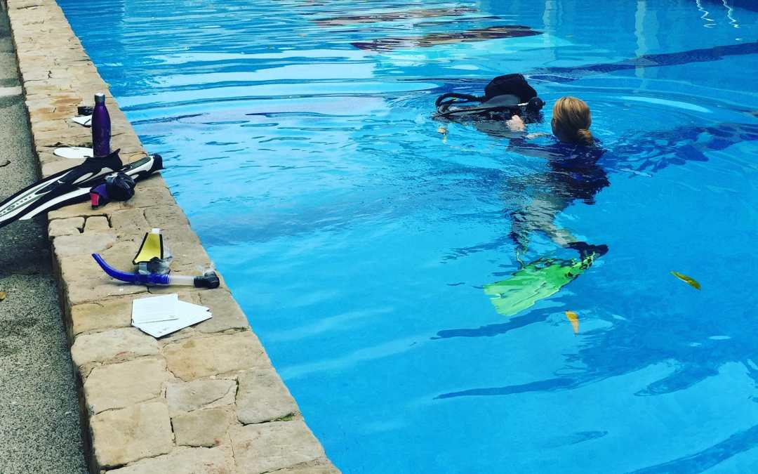 What is life teaching you as a scuba instructor?