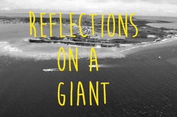 Reflections on a giant