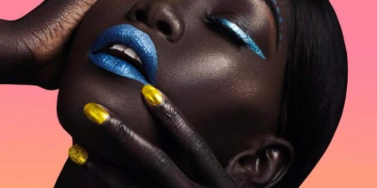 """Meet The Beautiful Sudanese Model Nicknamed The """"Queen Of The Dark"""""""