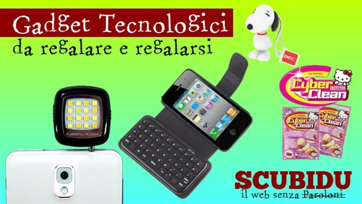 Gadget Hi-Tech | Idee regalo e accessori tecnologici