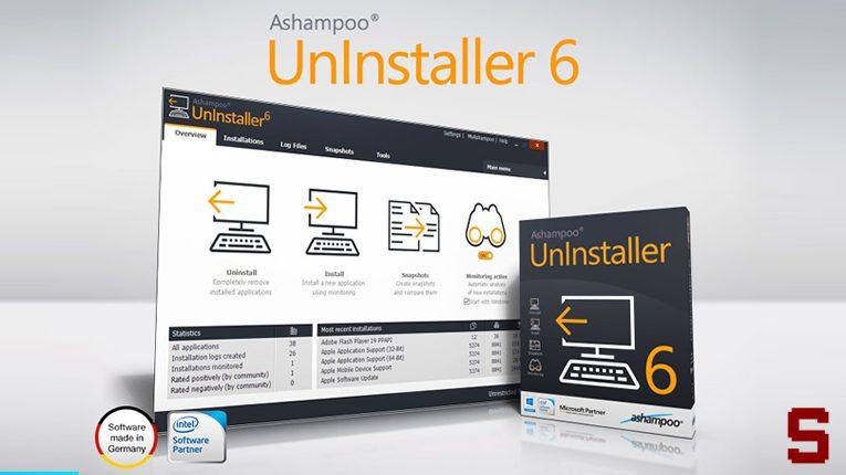Ashampoo Uninstaller | Disinstalla completamente un programma