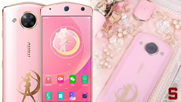 Meitu M8 | lo smartphone di Sailor Moon