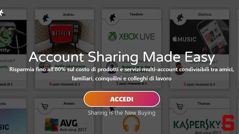 Come condividere abbonamenti Netflix, Spotify, Xbox Live, Apple Music…