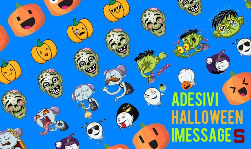 Halloween anche nei messaggi, ecco alcuni stickers per iMessage
