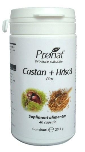 Castan + Hrișcă plus 40 capsule