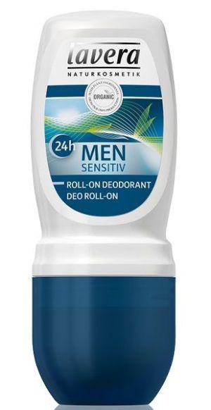 LAVERA – MEN Sensitive 24h - Deodorant roll-on cu lemongrass si bambus, 50 ml