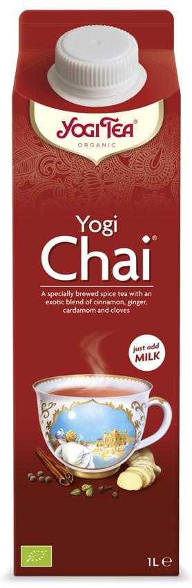 Yogi CHAI, Specialitate preparata de ceai, 1 litru