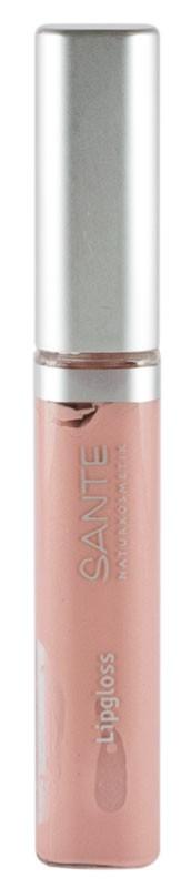SANTE – Gloss pentru buze, Nuanta 02 Nude matase, 10 ml