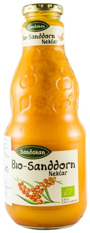 Sandokan - Nectar Bio de catina, 0,75L