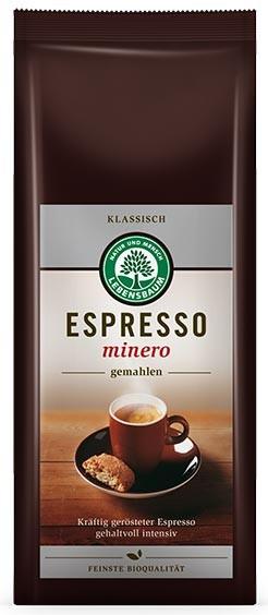 Lebensbaum – Cafea bio macinata Expresso Minero, 250 g