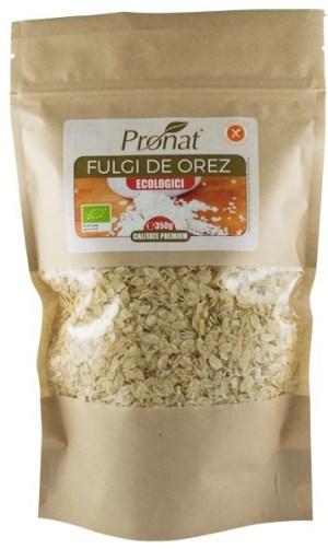 Fulgi de orez Bio, 350 g