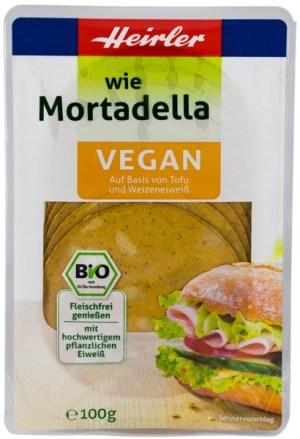 Heirler - Mortadella BIO vegan, 100g