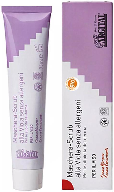 ARGITAL - Crema exfolianta de violete non alergica, 75 ml