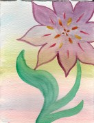 She blossoms
