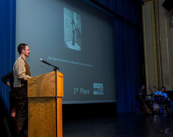 Award Presentation photo by Steve Diamond Elements