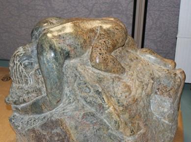 Man Rising Sculpture