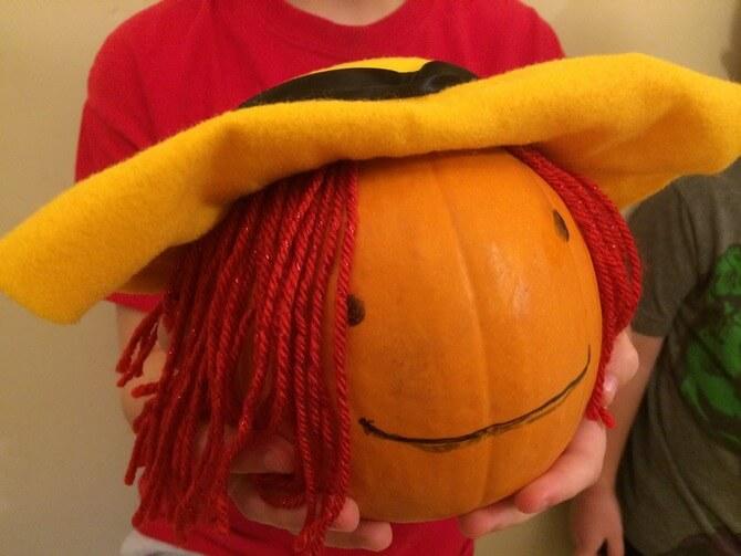 pumpkin madeline