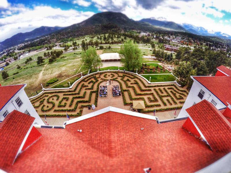 Stanley Hotel maze