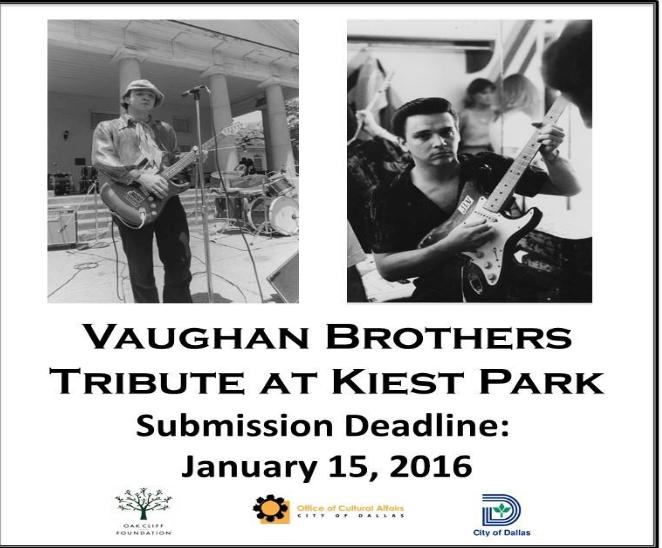 Vaughan brothers sculpture tribute