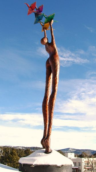 Lorri Acott- Arc of Peace sculpture